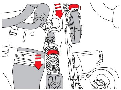 Регулировка привода управления механической коробкой передач Шкода Фабия