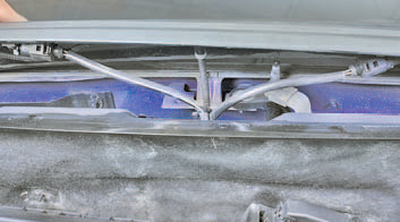 Снятие и установка короба воздухопритока Шкода Фабия