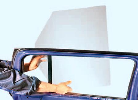 Снятие и установка стеклоподъёмника задней двери Шкода Фабия