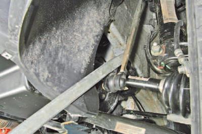 Проверка технического состояния деталей передней подвески на автомобиле Шкода Фабия