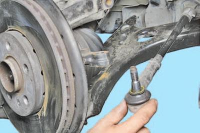 Снятие и установка приводов передних колес Шкода Фабия