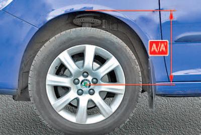 Проверка и регулировка углов установки колес Шкода Фабия