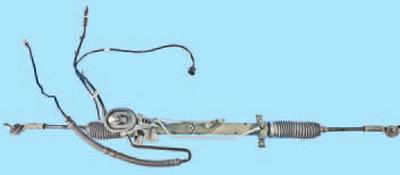 Снятие и установка рулевого механизма Шкода Фабия