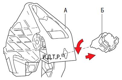 Замена главного цилиндра гидропривода выключения сцепления Шкода Фабия