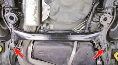 Проверка технического состояния деталей задней подвески на автомобиле Шкода Фабия