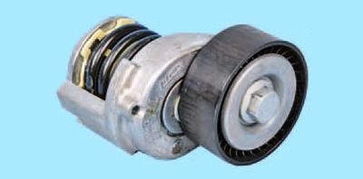 Снятие и установка автоматического натяжителя ремня привода вспомогательных агрегатов двигателей bbm, bzg и bts Шкода Фабия