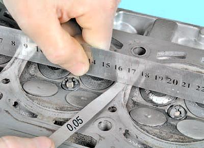 Замена прокладки головки блока цилиндров Шкода Фабия